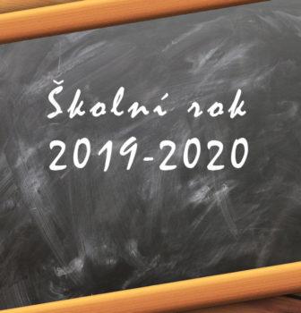 Organizace školního roku 2019/2020