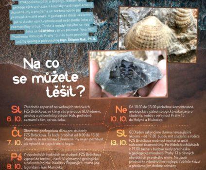 Geotýden na FZŠ Brdičkova
